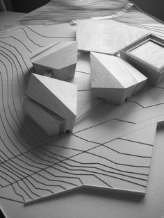 Museum of rock cultures by Andrey Andreev, Architectural Model