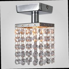 48.03$  Buy now - http://alibv1.worldwells.pw/go.php?t=1415472695 - MAMEI MAMEI Free Shipping Hot Sale Mini Square Hallway Ceiling Lamp With K9 Crystal Drop Decoration For Gallery & Corridor 48.03$