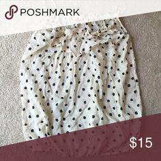 Cute polka-dot tank Cute and billowy polka dot blouse Tops Camisoles