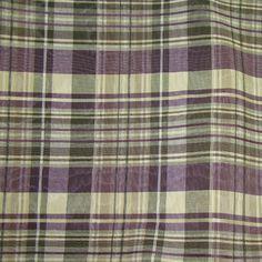 Sidonia Purple Plaid