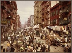New York City, 1890, Jahrgang, Mulberry Street