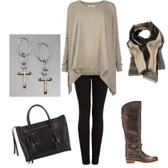 Love this with leggings and a cute ponytail to run around town.