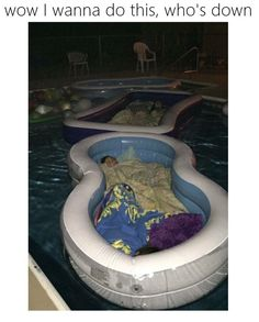 Gonna do this when I have a pool                                                                                                                                                                                 More