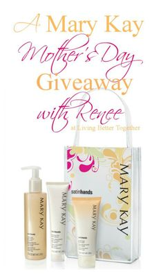Mary Kay Fragrance-Free Satin Hands Pampering Set giveaway