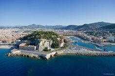La colline du Château à #Nice. #France