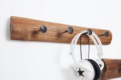Dizajnový vešiak na stenu z masívneho dreva 50cm. Shabby, Interior, Vintage, Products, Environment, Dekoration, Recyle, Rustic, Metal