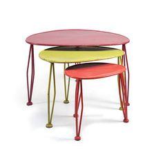 3-Pc. Nesting Table Trio