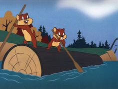 """Mac and Tosh - the """"Goofy Gophers"""" of Warner Brothers cartoons."""