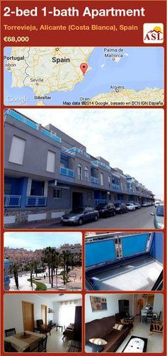 2-bed 1-bath Apartment in Torrevieja, Alicante (Costa Blanca), Spain ►€68,000 #PropertyForSaleInSpain