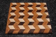 Crazy Pattern Cutting Board Pattern Cutting, Pattern Art, Wood Cutting Boards, Pattern And Decoration, Woodworking Projects Diy, 3d Projects, Wood Wall Art, Patio Ideas, Master Bathroom