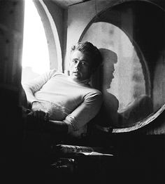 James Dean photographed by Roy Schatt, 1954