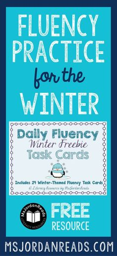 Winter Fluency Task