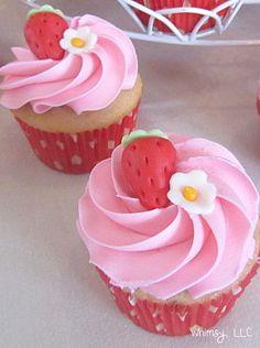 Berry Sweet cupcakes