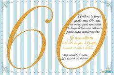 Carte Invitation Gratuite A Imprimer 60 Ans 60 Ans Cartes Et