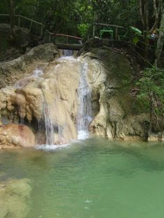 Hindag-an Falls , Southern Leyte,Philippines