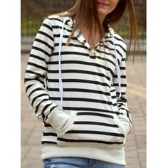 GET $50 NOW   Join Dresslily: Get YOUR $50 NOW!http://m.dresslily.com/long-sleeves-striped-hoodie-for-women-product936710.html?seid=3AjpnSh464lrEff65p4CfEt5h0