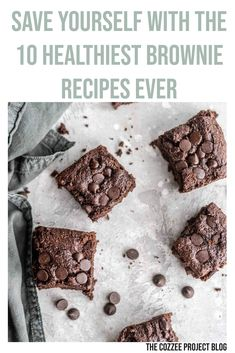 I crave and eat brownies at least once a month so I might as well be healthy about it!  #brownie #browniesglutenfree #browniesedap #brownieswhyyousodelicious   #browniesbakar #brownieschocolate #browniesbites #browniessegamat #brownied  #brownietower #browniesdoitbetter #healthy #healthyfood #healthylifestyle #healthychoices #thecozzeeprojectblog #thecozzeeproject #pillows #happiness #selfcare #sleep Healthy Dessert Recipes, Gluten Free Desserts, Healthy Desserts, Real Food Recipes, Delicious Desserts, Vegan Recipes, Vegan Sweets, Healthy Treats, Easy Desserts