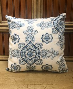 Paisley Pillow Cover, Navy Pillow Cover, Blue Throw Pillows, Contemporary Pillow Covers, Chair Pillow Covers, Home Decor Contemporary Pillow Covers, Modern Pillow Covers, Blue Pillow Covers, Sofa Pillow Covers, Chair Pillow, Sofa Pillows, Navy Blue Pillows, Blue Throw Pillows, Blue Throws