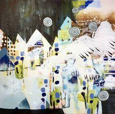 """Saatchi Art Artist Randi Antonsen; Painting, """"angel"""" #art"""