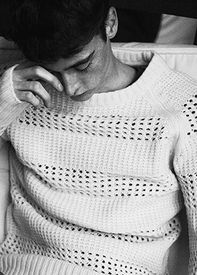 Past Modern Men's Knitwear Collection S/S corded yarns and woven-look rib creates a robust textured look