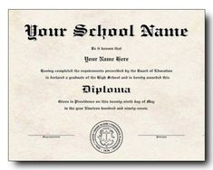 champlain college publishing 20 high school diploma template printables for free - College Graduation Certificate Template