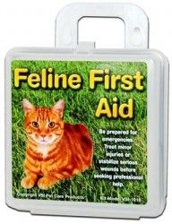 VSI Feline First Aid Kit with Plastic Case helps bring protection to cats. Contents are selected from researching the needs of cat owners, veterinarians, and cat lovers to ensure this kit will do the job.