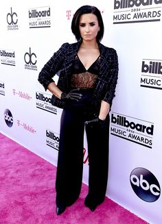 Demi Lovato at Billboard Music Awards 2016.