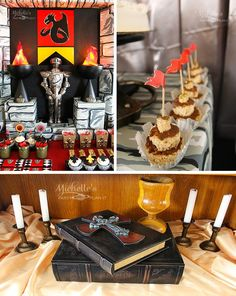 Knights and Dragons Playdate Full of Fun Ideas via Kara's Party Ideas   KarasPartyIdeas.com #KnightsQuest #Templar #Dragon #TheRoundTable #Party #Ideas #Supplies (1)