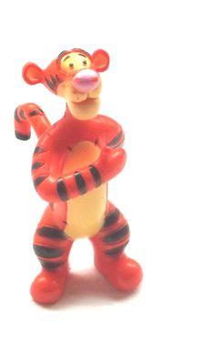 Vintage Winnie the Pooh Tigger Figure by Disney (1980's) - RARE