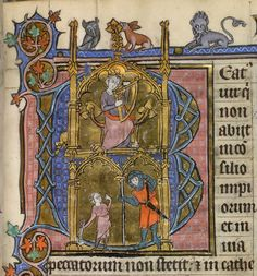 Yates Thompson 15 f. 20 Psalter and Hours, Use of Arras France, N. (Arras); c. 1300