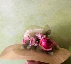 Exquisite!  Sandra Nicole Designs. Perfect for that beautiful summer outfit you are going to wear at the Opening day at Del Mar, Kentucky Derby or the beautiful outdoor wedding