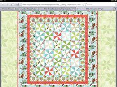 Very interesting design and Xmas fabric