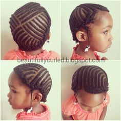 Like a little foursquare hat in braids. Cute Little Girl Hairstyles, Natural Hairstyles For Kids, Kid Hairstyles, Natural Hair Care, Natural Hair Styles, Little Black Girls Braids, Kid Braid Styles, Kid Styles, Cute Updo
