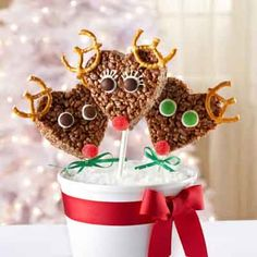 Holiday Reindeer Treats