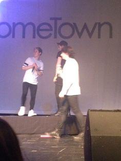 Josh Dean and Brendan onstage ❤️