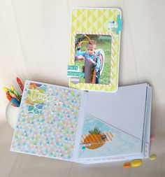 Le scrap d 'Opsite: Tutoriel : Mini album DT Studio Tekturek