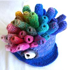 Coral Punk. Published REALLY Wild Tea Cosies 2010. Variation on the theme.