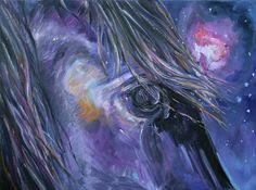 Orion by equine artist Diane Williams