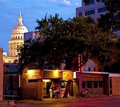 Well I wish I was in Austin at the Chili Parlor bar drinking Mad Dog margaritas and not caring where you are. --Guy Clark :)