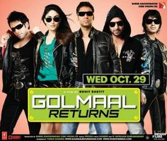Golmaal Returns (2008) Bollywood Comedy -Movies Festival – Watch Movies Online Free!