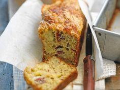 Cake à la raclette et aux tomates confites
