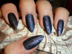 """Improbable Nails: """"Rain"""" nails"""