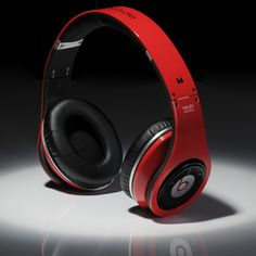 Real Beats By Dre Wireless Bluetooth Red Black Headphones For Cheap