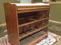 Chalk paint dresser makeover (& a giveaway) » Mom4Life Blog