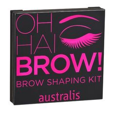 Australis Oh Hai Brow Kit * Continue to the product at the image link. (This is an affiliate link) Best Eyebrow Powder, Eyebrow Makeup Products, Makeup Tips, Eyebrow Kits, Eyebrow Pencil, Fill In Brows, Color Contour, Beauty Box Subscriptions
