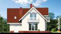 Projekt domu Dom w antonówkach (G) - ARCHON+ Home Fashion, House Plans, Farmhouse, Cabin, Mansions, House Styles, Home Decor, House, Blueprints For Homes