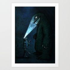 Monster Art Print by MaComiX Monster Art, Illustration Art, Illustrations, Typography, Batman, Darth Vader, Superhero, Art Prints, Poster