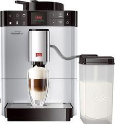 Melitta Caffeo Varianza CSP Zilver  Melita Caffeo Varianza CSP: Varieer onbeperkt en beleef koffie op een hele nieuwe manier! De Caffeo Varianza CSP zilver is een van de nieuwe volautomatische espressomachines van Melitta. Hiermee biedt Melitta joueen pure innovatie waarmee je geniet van de heerlijke koffiespecialiteiten. De Caffeo Varianza beschikt over het exclusieve Single Portion-systeemMy Bean Select. Met dit systeem is het voor eerst mogelijk om voor elk kopje koffie te kiezen uit alle…