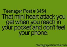 i wish i could feel that mini heart attack