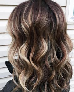 48 Balayage Ombre Hair Colors For 2019 Hair Color And Cut, Ombre Hair Color, Hair Color Balayage, Balayage On Straight Hair, Balayage Hair Brunette Medium, Hair Colors For Fall, Hair Bayalage, Summer Hair Color For Brunettes, Baylage